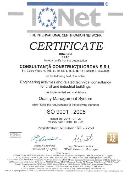 CCI-Certificate-IQNET-SRAC